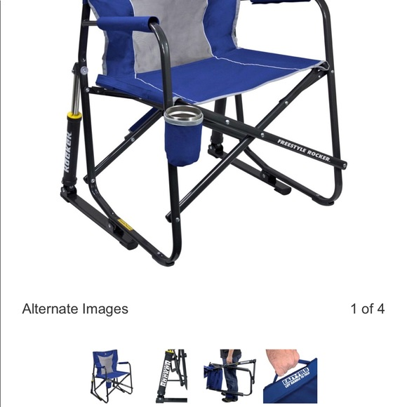 Marvelous Gci Outdoor Freestyle Rocker Mesh Chair Nwt Gmtry Best Dining Table And Chair Ideas Images Gmtryco